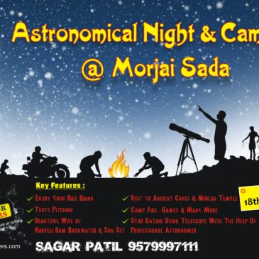 Kolhapur Hikers Astronomical Night & Camping At Morjai Sada 18th March 2017